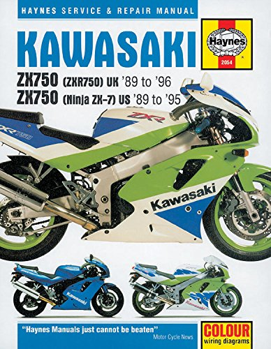 9781859602850: Kawasaki ZXR750 (Ninja ZX-7 and ZXR750) Fours Service and Repair Manual (Haynes Service and Repair Manuals)