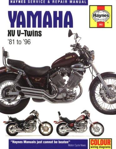 9781859603512: Yamaha XV V-Twins Service and Repair Manual (Haynes Service and Repair Manuals)