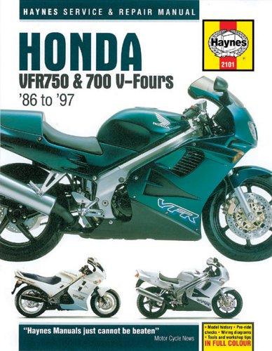 Honda VFR700 & 750 V-Fours '86'97 (Haynes: Haynes, John