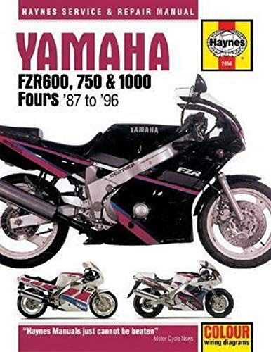 Yamaha FZR600, 750 and 1000 Fours (87-96): Haynes, J. H.