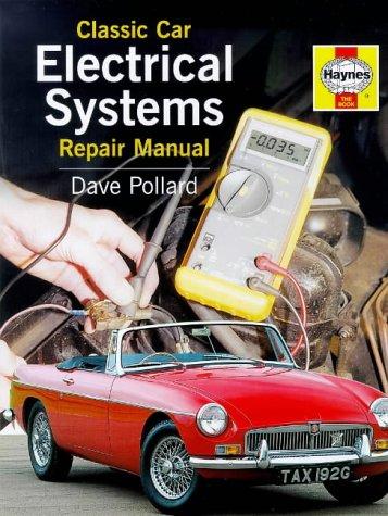 9781859604335: Classic Car Electrical Systems Repair Manual