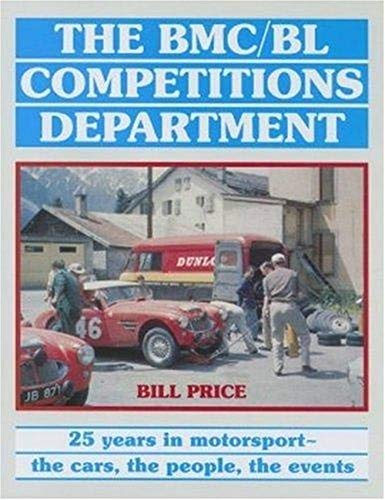 BMC-BL Competitions Department - 25 Years in: Price, Bill