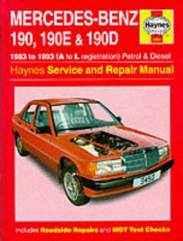 Mercedes benz 190 190e and 190d 83 93 service and for Mercedes benz service repair manual