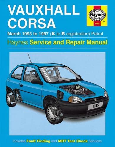 9781859604601: Vauxhall Corsa (93-97) Service and Repair Manual (Haynes Service and Repair Manuals)