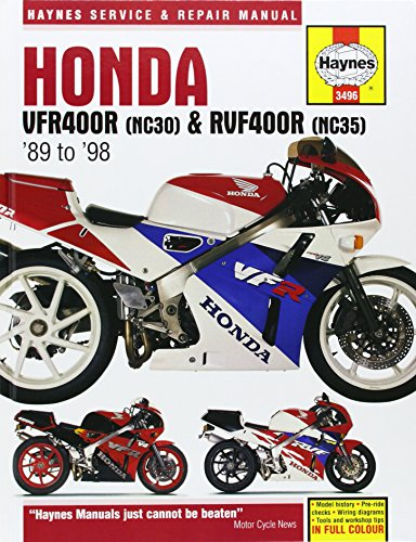 9781859604960: Honda VFR400 and RVF400 V-fours, 1989-97 (Haynes Service and Repair Manuals)