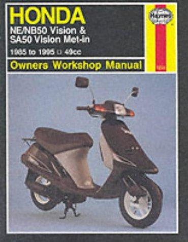 Honda NE/NB50 Vision and SA50 Vision Met-in Owner's Workshop Manual: Shoemark, Pete; Cox,...