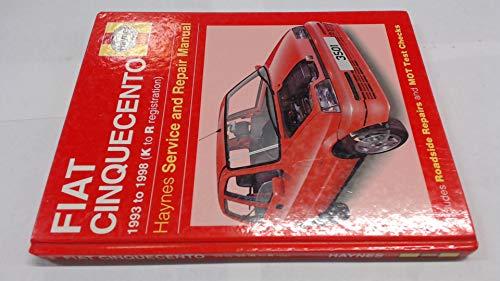9781859605011 fiat cinquecento service and repair manual haynes rh abebooks co uk haynes manual fiat 500 haynes manual fiat 500 download
