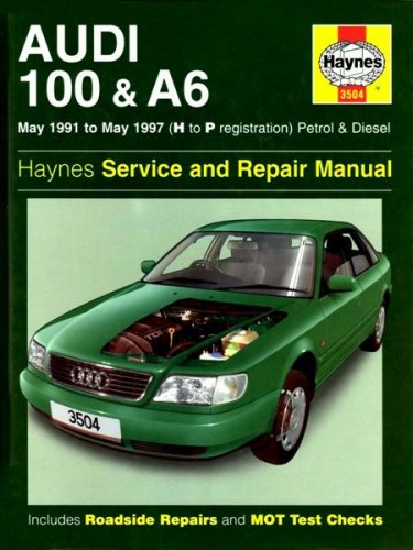9781859605042: Audi 100 and A6 (1991-97) Service and Repair Manual (Haynes Service and Repair Manuals)