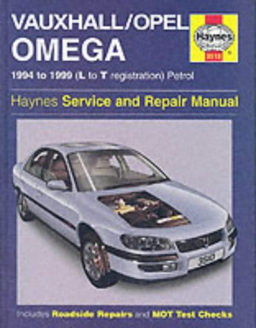 9781859605103: Vauxhall/Opel Omega Service and Repair Manual (Haynes Service and Repair Manuals)