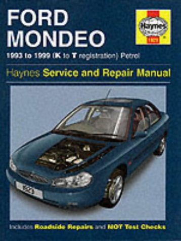 Ford Mondeo Service and Repair Manual (Haynes: Churchill, Jeremy; Legg,