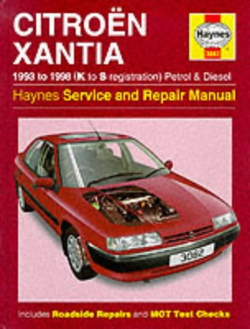 Citroen Xantia (1993-98)Service and Repair Manual (Haynes Service and Repair Manuals): Rendle, ...
