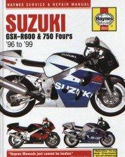 9781859605530: Suzuki GSXR600 & 750 Fours '96'99 (Haynes Repair Manuals)