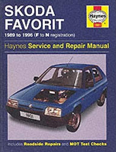 Skoda Favorit Service and Repair Manual (Haynes: Hamlin, Andrew