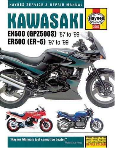 9781859605622 kawasaki ex500 87 99 haynes repair manuals rh abebooks com Motorola EX500 Kawasaki EX500 Cafe Racer