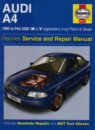 9781859605752: Audi A4 (4-cylinder) Service and Repair Manual (Haynes Service and Repair Manuals)