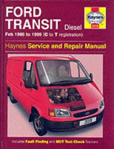 Ford Transit Diesel (1986-99) Service and Repair Manual: Mead, John S.; Jex, R. M.