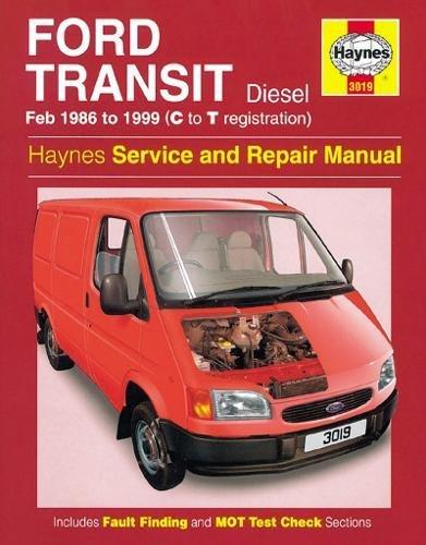 9781859605868: Ford Transit Diesel (1986-99) Service and Repair Manual (Haynes Service and Repair Manuals)