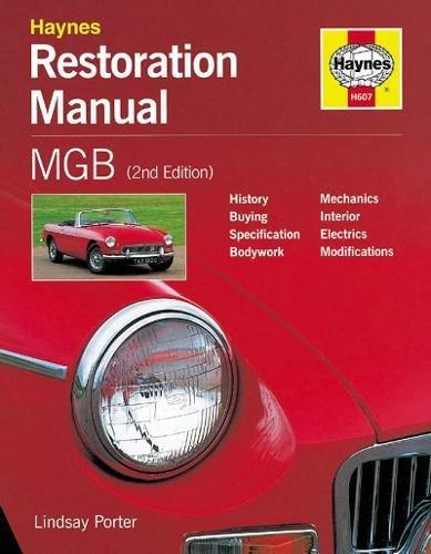 MGB Restoration Manual: Porter, Lindsay