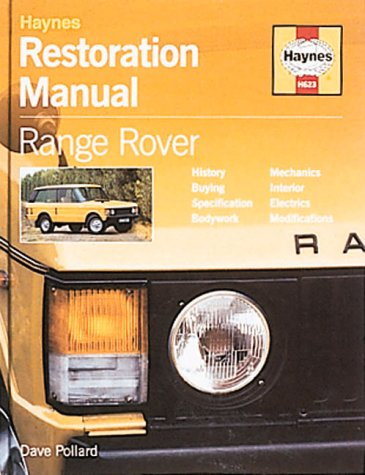 9781859606230: Range Rover Restoration Manual