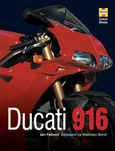 Ducati 916 (Haynes Great Bikes): Falloon, Ian