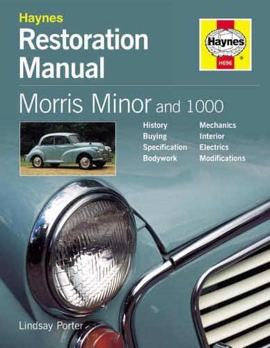 9781859606964: Morris Minor and 1000 (Restoration Manuals)
