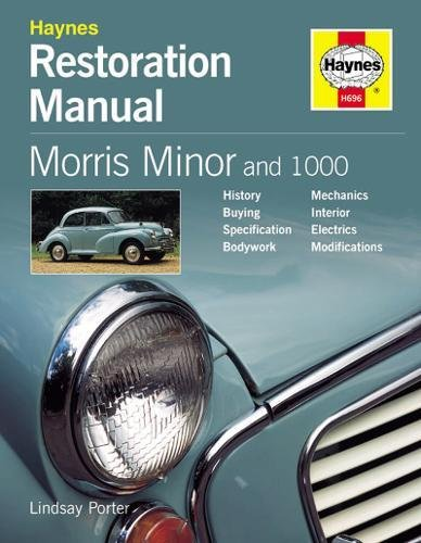 9781859606964: Morris Minor and 1000 (Restoration Manuals)
