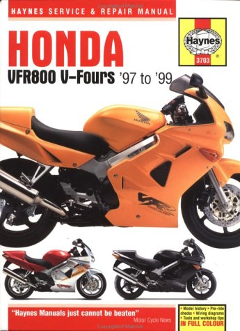 9781859607039: Honda VFR800 V-Fours 1997 to 1999 (Haynes Service and Repair Manuals)