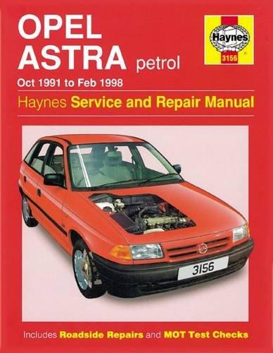 9781859607107: Opel Astra Petrol (Oct 91 - Feb 98)
