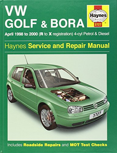 9781859607275: Volkswagen Golf and Bora Petrol and Diesel (1998-2000) Service and Repair Manual