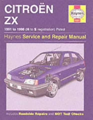 9781859607503: Citroen ZX Petrol/service and Repair Manual: 1991-1998