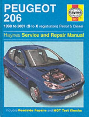 9781859607572: Peugeot 206 Petrol and Diesel Service and Repair Manual (Haynes Service and Repair Manuals)