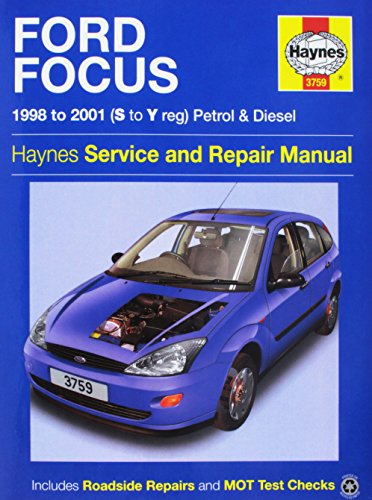 Ford Focus Service and Repair Manual (Service: Gill, Peter