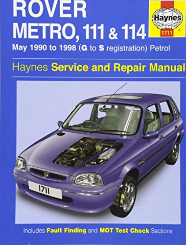 Rover Metro, 111 and 114 Service and Repair Manual (Hardcover): Chris Rogers
