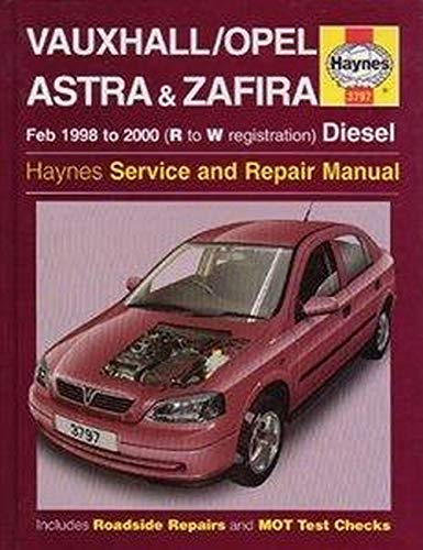 Vauxhall/Opel Astra and Zafira (Diesel) Service and: Randall, Martynn; Legg,