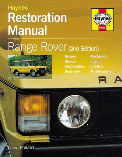 9781859608272: Restoration Manual Range Rover (Restoration Manuals)