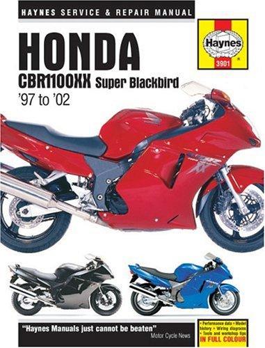 Honda CBR1100XX Super Blackbird 1997 to 2002