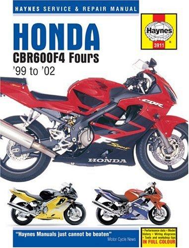 9781859609118: Honda: CBR600F4 Fours '99 to '02 (Haynes Service & Repair Manual)
