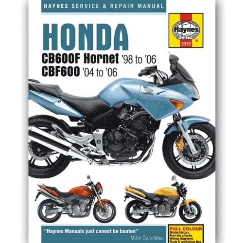 Honda CB600F & CB600FS Hornet 98 to: Phil Mather