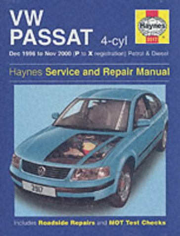 9781859609170: VW Passat 4-Cyl Petrol & Diesel (Dec 96 - Nov 00) P To X (Service & repair manuals)