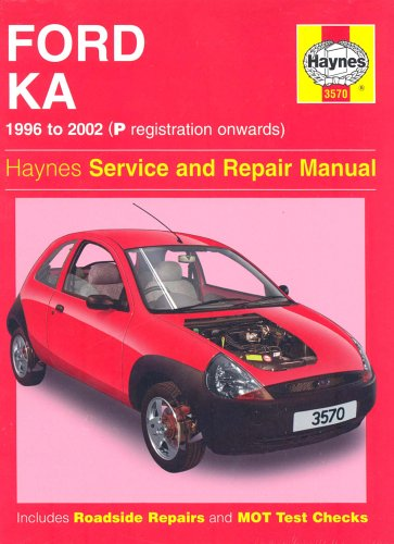 9781859609286: Ford Ka Service and Repair Manual (Haynes Service and Repair Manuals) Motor 1.?