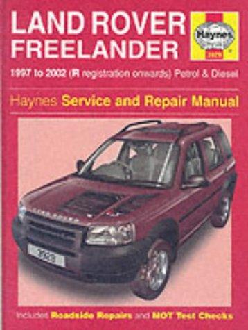 9781859609293: Land Rover Freelander Service and Repair Manual (Haynes Service and Repair Manuals)