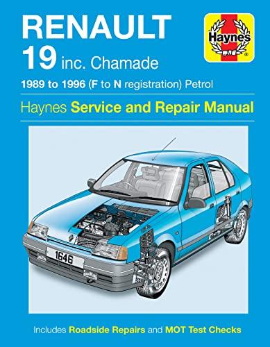 9781859609323: Renault 19 (Petrol) Service and Repair Manual: 1989-1996 (Haynes Service and Repair Manuals)
