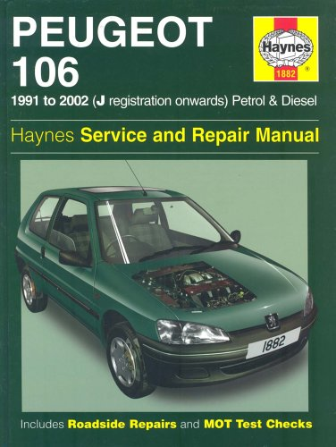 9781859609347: Peugeot 106 Service and Repair Manual (Haynes Service and Repair Manuals)