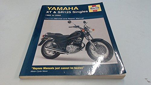 9781859609453: Yamaha XT and SR125 Singles Service and Repair Manual: 1982-2002 (Haynes Service and Repair Manuals)