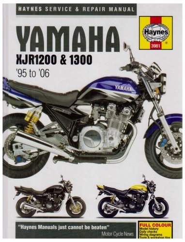 9781859609811: Yamaha XJR1200 and 1300 Service and Repair Manual: 1995 to 2001 (Haynes Service and Repair Manuals)