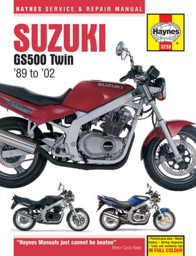 9781859609859: Suzuki GS500 Twin 1989-2002 (Haynes Manuals)