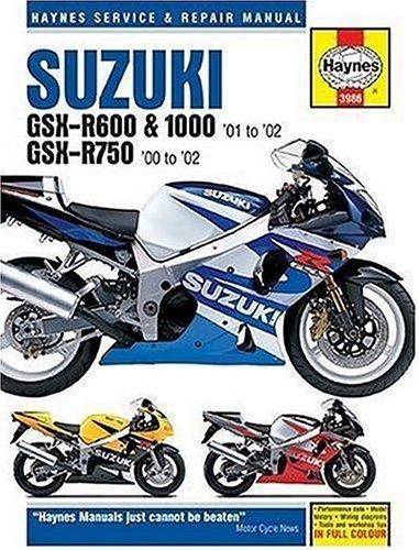 Haynes Suzuki GSX R600 and 1000 01: Francis Frith Collection