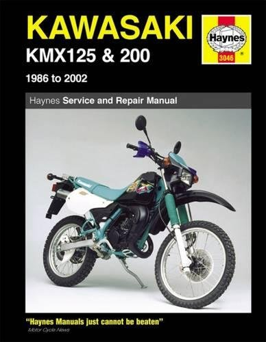 Kawasaki KMX 125 and 200 Service and Repair Manual: 1986-2002 (Haynes Owners Workshop Manuals): ...