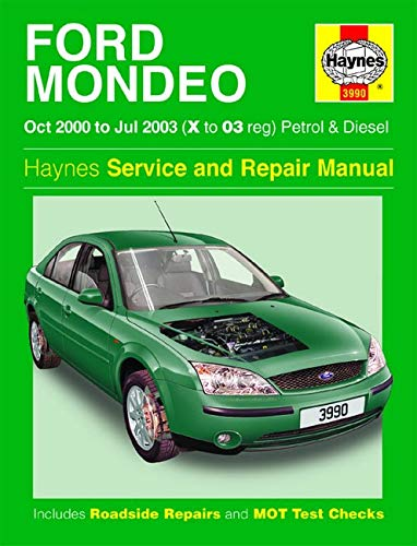9781859609903: Ford Mondeo Petrol and Diesel Service and Repair Manual: 2000 to 2003 (Haynes Service and Repair Manuals)