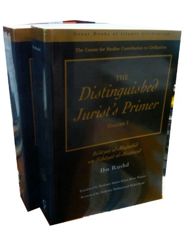 The Distinguished Jurist's Primer 2 Volume Set (185964189X) by Ibn Rushd
